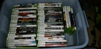 assorted Xbox 360 game cases Waterloo, N2J 2A2