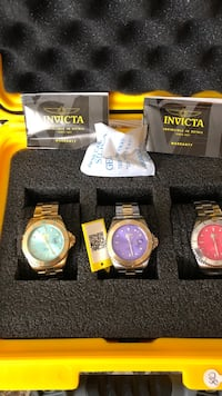 Sale Invicta watch's $80.00 each all new Jackson, 08527