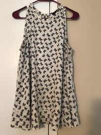 white and black floral sleeveless dress Citrus Heights, 95621