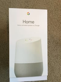 Google Home voice-activated speaker box Oakland, 94611