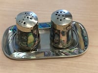 Antique salt and pepper shakers. Edmonton, T5H 2Y7