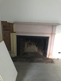 Antique wood mantle Pepperell, 01463