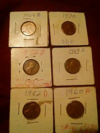 Lincoln pennies  Galena, 65656