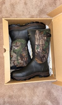 """Hunting boots 16"""" SIZE 14 Chantilly, 20152"""