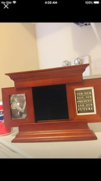 WoodenNEW  gorgeous photo frame opens for extra Calgary, T3K 6J7