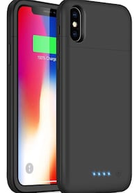 Rechargeable, Portable Battery Case, for IPhone X/XS, (Gaurenteed Delivery 2-4 days) Tracking Included  Miami