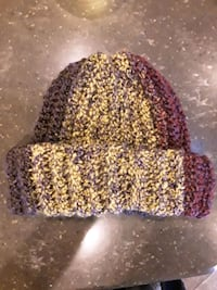 Handmade, Multi-color Beanie Slouch Cap Hat Lakeside, 92040
