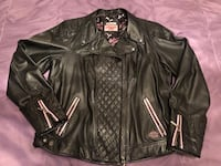 Women's limited edition Harley Davidson leather jacket  Montréal, H8R 3L4