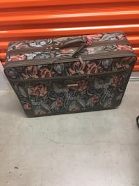 brown and black floral chest box Rockville, 20850