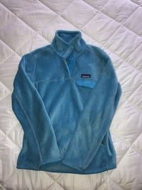 Patagonia Women's Re-Tool Snap-T® Fleece Pullover in Blue Manassas Park, 20111