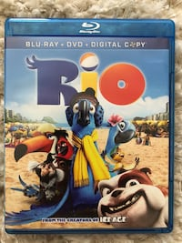 Rio, dvd only no case never used  Tacoma, 98405