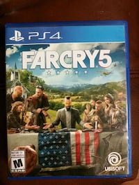 Sony PS4 Far Cry 5 case Port Coquitlam, V3C 1Z8