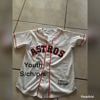 white and red Adidas jersey shirt Brownsville, 78521