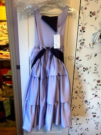 Purple girls dress