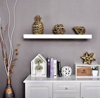 Set of 3 Birch Floating Shelves Washington, 20002