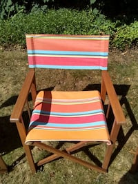 Four Folding Teak Chairs - Brand New North Plainfield, 07060