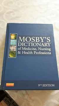 Mosby's Dictionary 9th Edition Vaughan, L4H