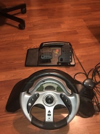 Mad Catz MC2 steering wheel and pedals for Xbox original Surrey, V3V 7L9