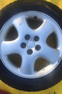 "Single pt cruiser 16""rim & winter rubber"