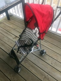 New! Never used! Baby stroller, mickey mouse theme Columbia