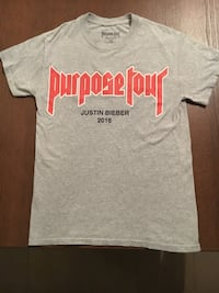 Justin Bieber Purpose Tour, My Mama Don't Like You. Size S Tee Toronto, M5N 1P6