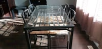 Dining table with 4 chairs Edmonton