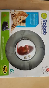 """""""Electronic Robot Mouse"""" Cat Toy with track Edmonton, T5H 1A7"""