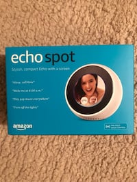 Amazon Echo Spot - Brand New
