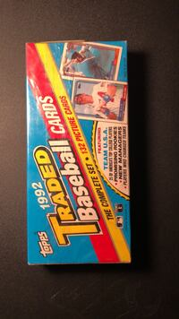 Topps 1992 Traded Baseball Cards SEALED NIB Complete 132 Set Fort Lauderdale, 33312
