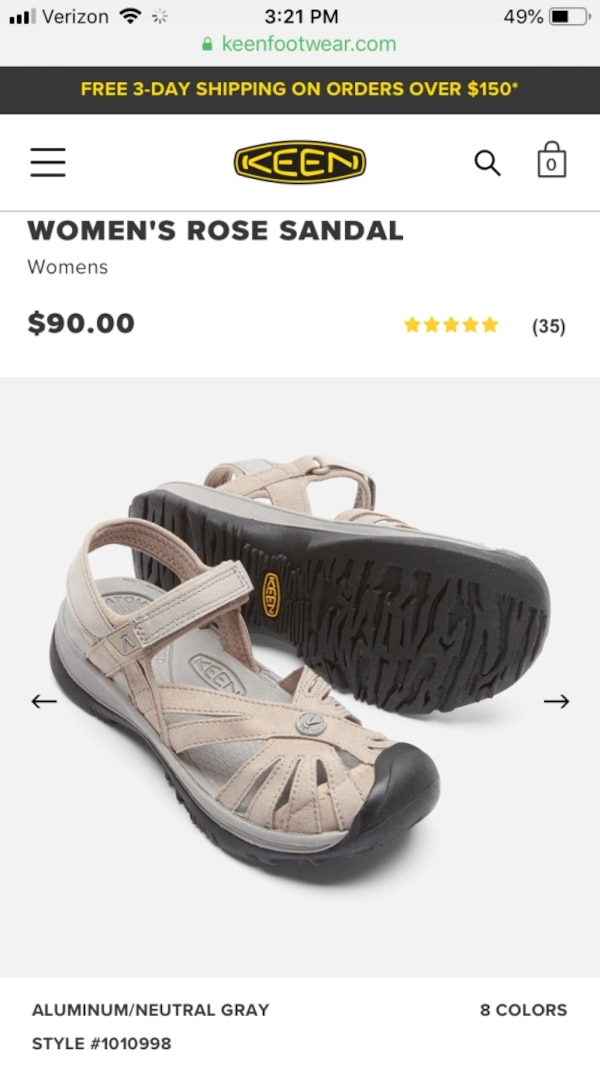 ccb092bb6d7c Used Keen Women s Rose Sandal size 8.5 for sale in Peotone - letgo