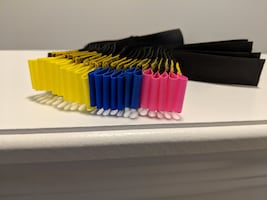 Coloured Velcro Cable Ties