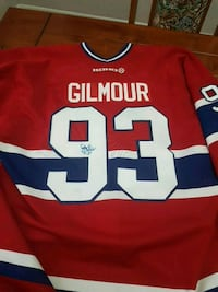 Authentic Doug Gilmour Signed Montreal Jersey Vaughan, L4L 6E9