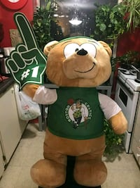 Large Boston Celtics plushie Toronto, M9R 4B4