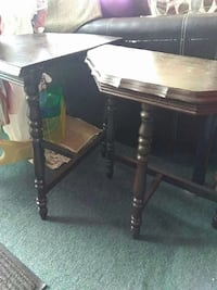 brown wooden side table Gainesville, 32641