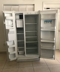 Price firm and a steal :) whirlpool refrigerator works perfectly w/ ice maker water & dispenser