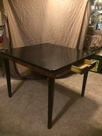 Square bar height table w/6 chairs from Pier One 356 mi