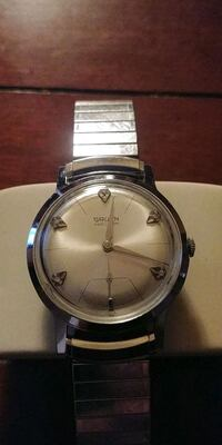 "Gruen ""Precision"" Diamond dial"