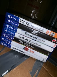NEED GONE 7 PS4 Story Singleplayer Games Anime/Eastern Pickup only