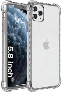 iPhone 11 Pro Case, Clear Anti-Scratch Shockproof Cases Cover for iPho