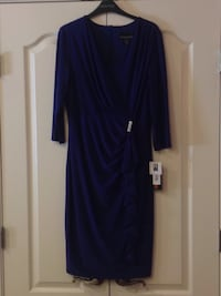 women's blue long-sleeved dress Ashburn, 20147