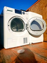 7.5 cu. ft. Capacity Front Load Electric Washer & Dryer with Steam in  Alexandria, 22312