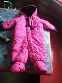 12 month old snow suit girls  Casper, 82601