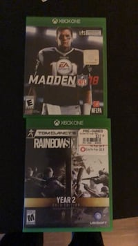 Two xbox one games Ranson, 25438