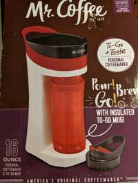 New Mr. Coffee maker grab and go machine Fort Myers, 33919