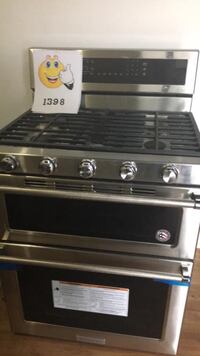 Double oven electric stove KitchenAid new