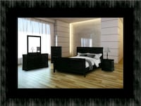 11pc black bedroom set Hyattsville, 20781