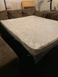 Two piece sectional couch with chaise lounge and pull out bed. Worcester, 01604