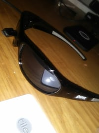 sports sunglasses with black frame