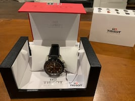 Limited Crown Edition Tissot Swiss Watch Men's V8 Analog Display