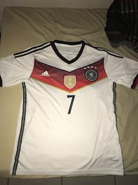 Germany world cup jersey #7 Miami, 33186